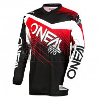 Джерси O'NEAL ELEMENT RACEWEAR black/white/red