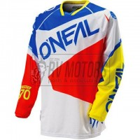 Джерси O'Neal Hardwear Flow blue/white/red