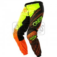 Штаны O'Neal Element Burnout green/orange Размер 32