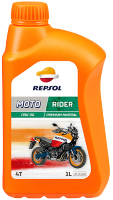 Моторное масло Repsol Rider 15w50 4T 1л , 4л