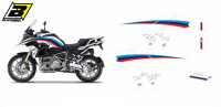 Комплект наклеек BMW R 1200/1250GS '17-'19 BLACKBIRD CLASSIC LINE GRAPHIC E2D07/00