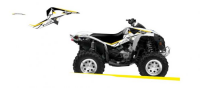 Комплект наклеек CAN-AM RENEGADE 500 '07-'15 BLACKBIRD DREAM 2 E2Q17A